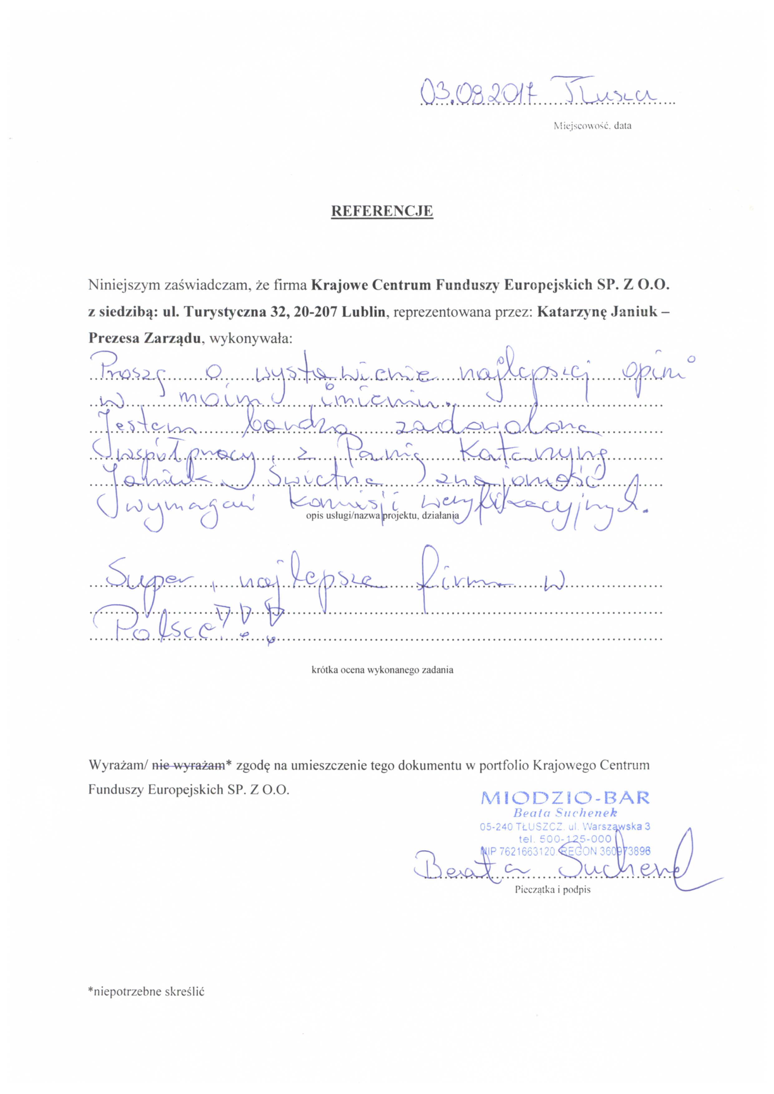 Referencje Miodzio-Bar 03.08.2017 - JPG
